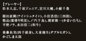 【すべらない話】2019年1月12日放送「出演者情報」まとめ