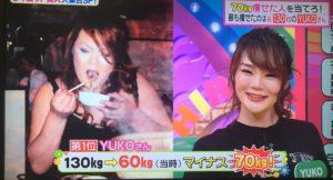 YUKOさん(35歳)2年間で70キロのダイエットに成功