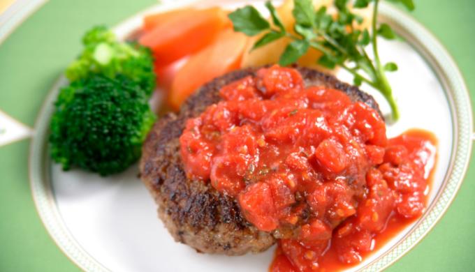 お肉ダイエットにも最適「栄養満点ハンバーグ」