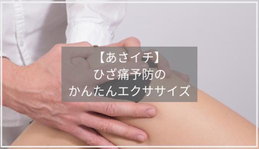 【あさイチ】ひざ痛予防の太極拳&テニスボールエクササイズのやり方。