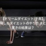 【ドリームダイエット/千鳥】に登場したダイエットのやり方 まとめ!驚きの結果は?
