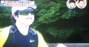 緑のサングラスで視力回復