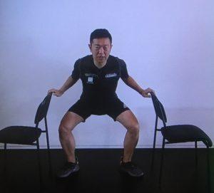 屈伸体操の画像