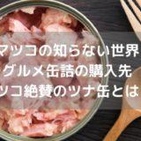 【マツコの知らない世界】おすすめ缶詰の購入先|マツコ絶賛のツナ缶とは?