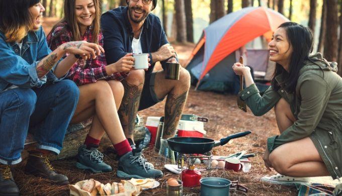 【マツコ会議】ヒロシのキャンプ飯|ベアーズ島田キャンプの究極の野外料理